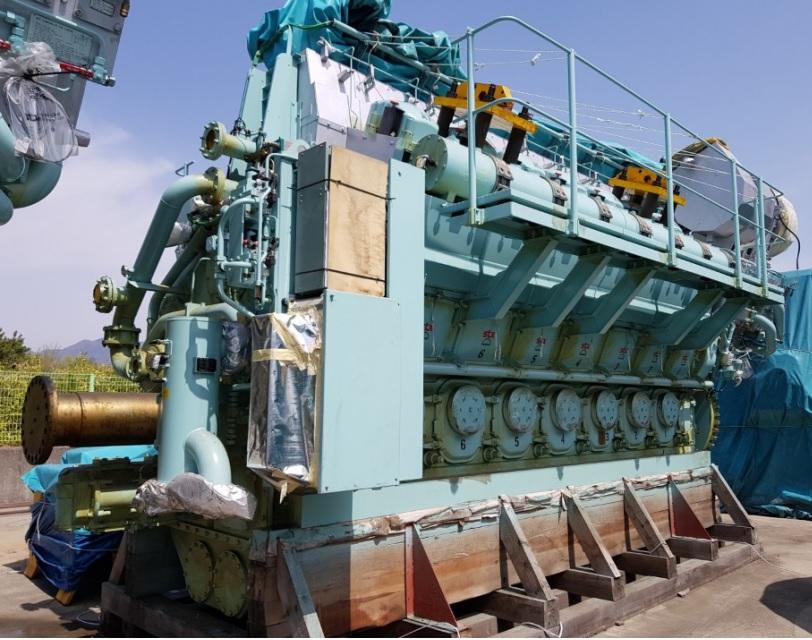 STX MAN 14V32 40 7000KW 750RPM ENGINE 2013 SURPLUS NEW
